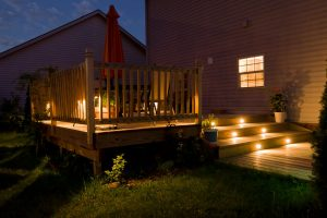time to stain your deck